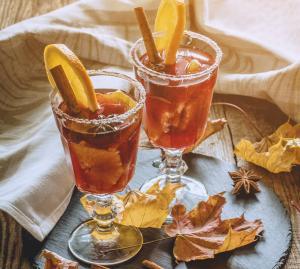 Herbst-Cocktails, bunt und farbenfroh!