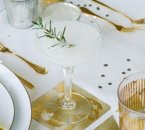 Silvester-Cocktails mit Sekt