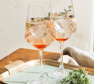 Sommer-Drinks mit Sekt